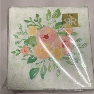Roberts and Reid 40 ct  napkins